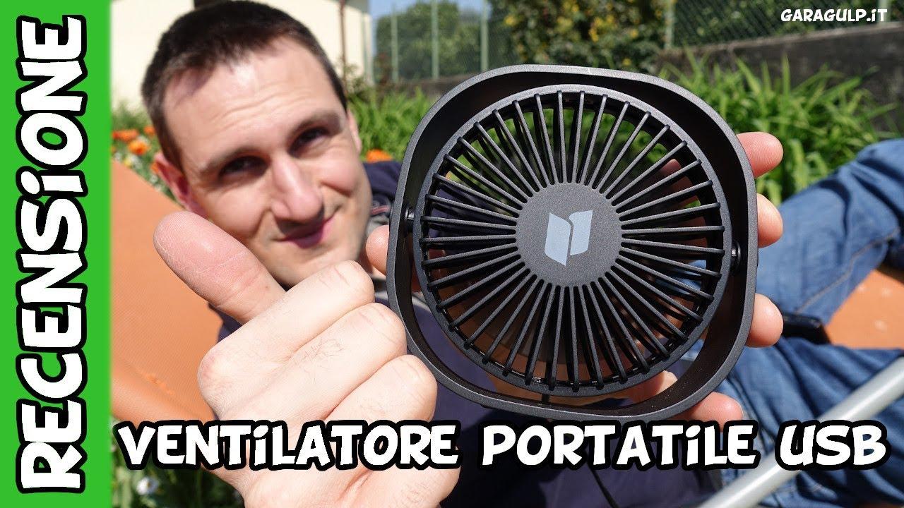 Greatangle Mini portatile da 4 pollici Ventilatore in plastica USB Ventilatore portatile per scrivania Ventilatore a 4 pale Regalo per ufficio con ventilatore a casa per ufficio