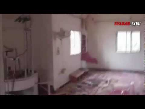 Ya Allah, Masjid Umar bin Khathab, Homs, Suriah Hancur Setelah Dibom Pasukan Preman Assad
