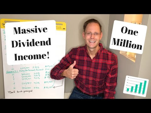 ONE MILLION DOLLARS IN DIVIDEND STOCKS