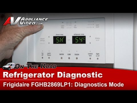 Electrolux & Frigidare Refrigerator error codes Repair