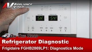 Electrolux & Frigidare Refrigerator error codes Repair & Diagnostics