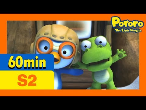 [Pororo S2] Full episodes S2 #41 - #52 (60min) | Kids Animation | Pororo the Little Penguin