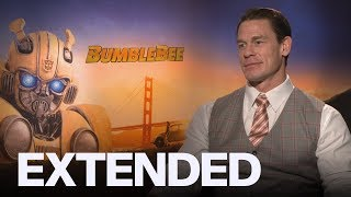 John Cena Relives 80s Fashion Horrors, Talks 'Bumblebee' | EXTENDED