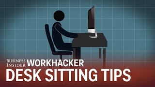 20 tricks for sitting at your desk without hurting your back