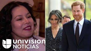 Mexicana vecina del palacio de Windsor se prepara para la boda de Meghan Markle y el príncipe Harry