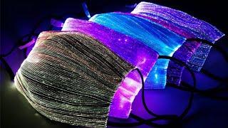 LED luminous flashing face mask 2020