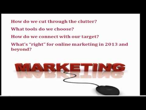 Session 3 - ONLINE MARKETING TOOLS