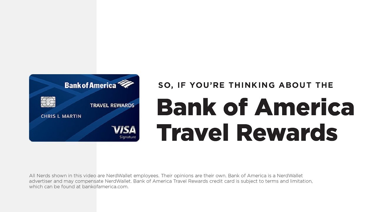 Bank of America Travel Rewards Review: Easy Rewards for Easy