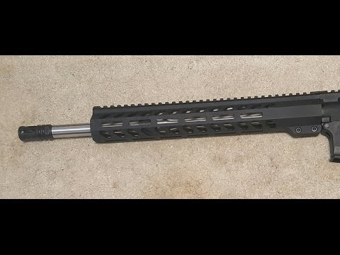 """Palmetto State Armory 16"""" Mid-length 5.56 NATO 1:8 Stainless Stealth Freedom M-lok Upper"""