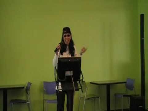 Susie Fan Singing for March of Dimes Charity Karaoke