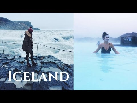 Iceland Travel Vlog, Blue Lagoon, Golden Circle, Black Sand Beach