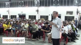 Anwar Ibrahim: Rakyat Kena Bangkit Dan Tolak Kezaliman & Rasuah UMNO