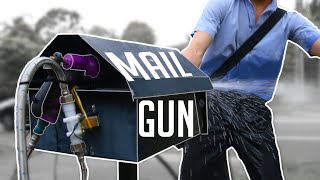 How to Stop Package Thief's. Water Jet Mailbox. MP3