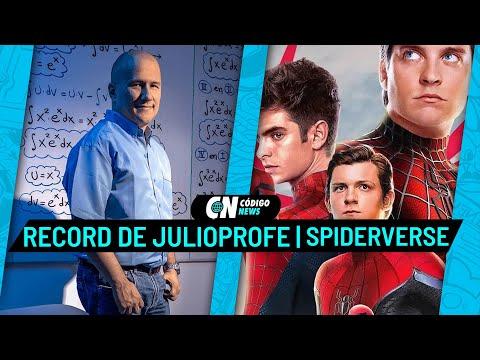Julio Profe tiene un Récord Guiness y el Spider-Verse se expande al MCU | Código News