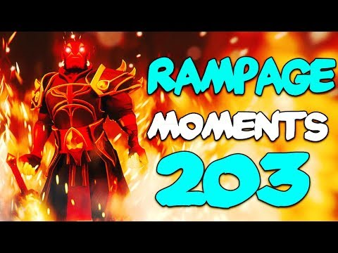Dota 2 Rampage Moments Ep 203 thumbnail
