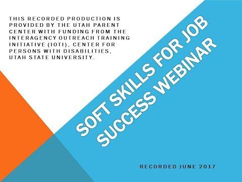 Soft Skills for Job Success