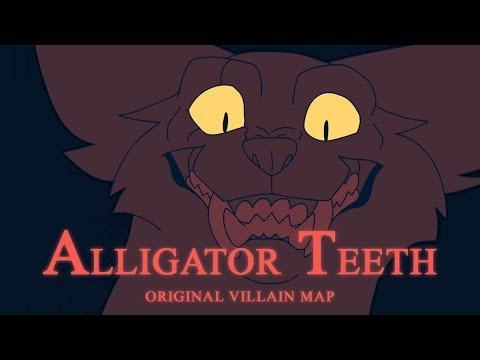 Alligator Teeth - OC Villain MAP