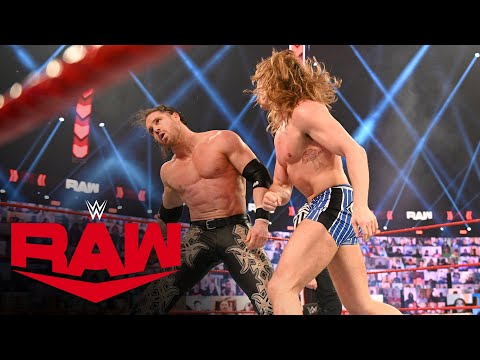 Riddle vs. John Morrison: Raw, Feb. 22, 2021