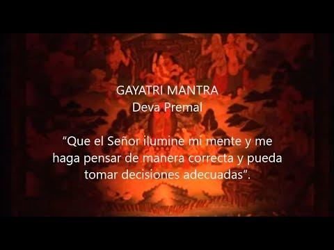 Gayatri Mantra  Sub Títulos Español. Deva Premal. Para Pedir Por  Tu Propia Sabiduría.