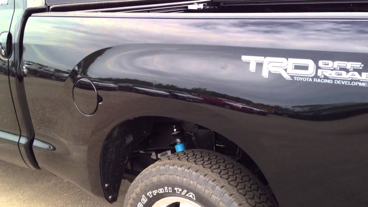 2013 Toyota Tundra 4.6L TRD Off Road Package