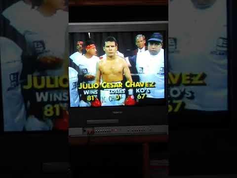 Julio Cesar Chavez Vs Hector