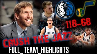 50 POINTS VICTORY!🔥Dallas Mavericks FULL TEAM HIGHLIGHTS vs Jazz - 14.11.2018