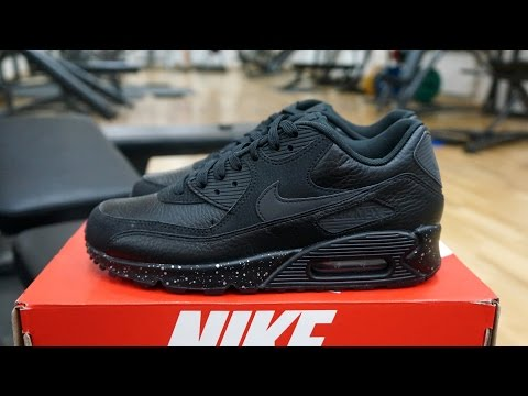 Nike Air Max Premium Black Metallic Silver