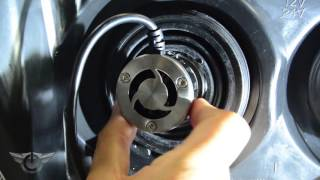 oracle lighting led headlight conversion kit demo install diy