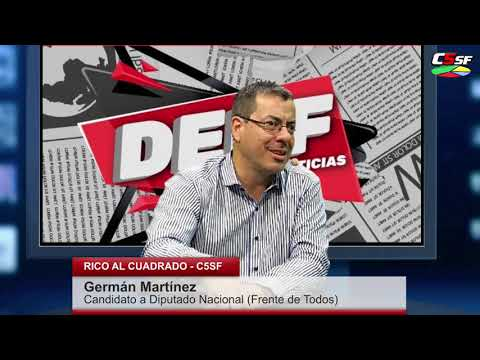 Germán Martínez: Neoliberalismo no