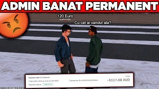 ADMIN BANAT PERMANENT PENTRU ABUZ!