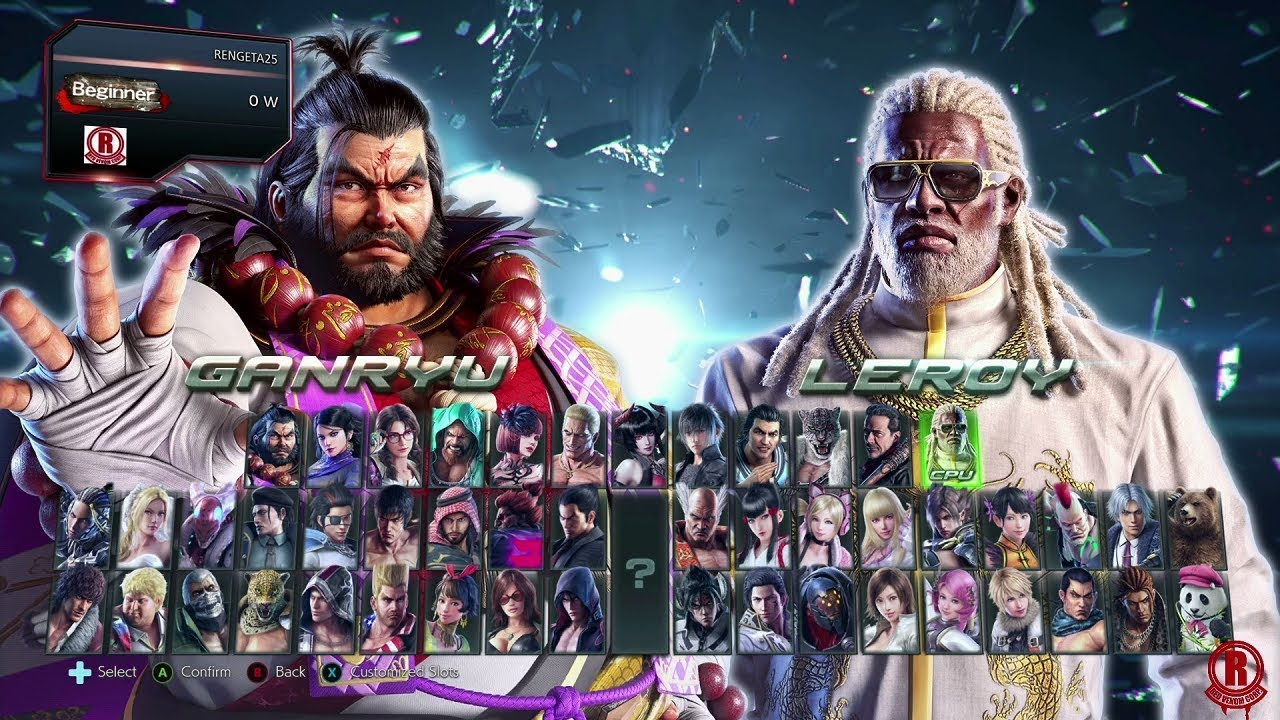 Tekken 7 Season 3 Updated Character Selection Screen With New Dlc