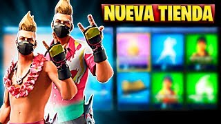 FORTNITE'S NEW STORE TODAY JUNE 25 NEW SKIN OF STY VAL AND PICO FILO DOUBLE