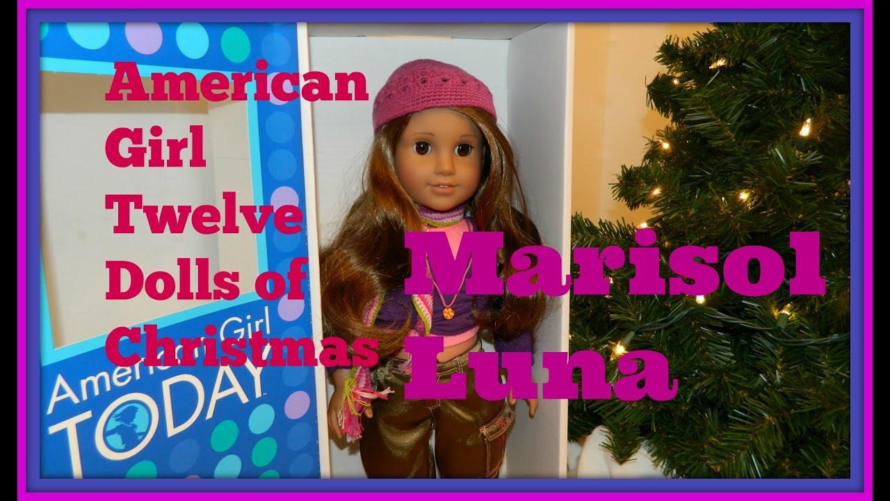 Download American Girl TWELVE DOLLS OF CHRISTMAS! Marisol Luna 2005