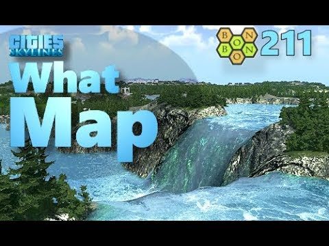 Cities Skylines - What Map - Map Review 211 - Kaulana Islands