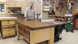 SawStop Out Feed Table Part 6B