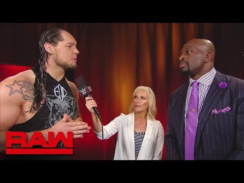 """Baron Corbin finds no """"inspiration"""" from Titus O'Neil's tumble: Raw, April 30, 2018"""
