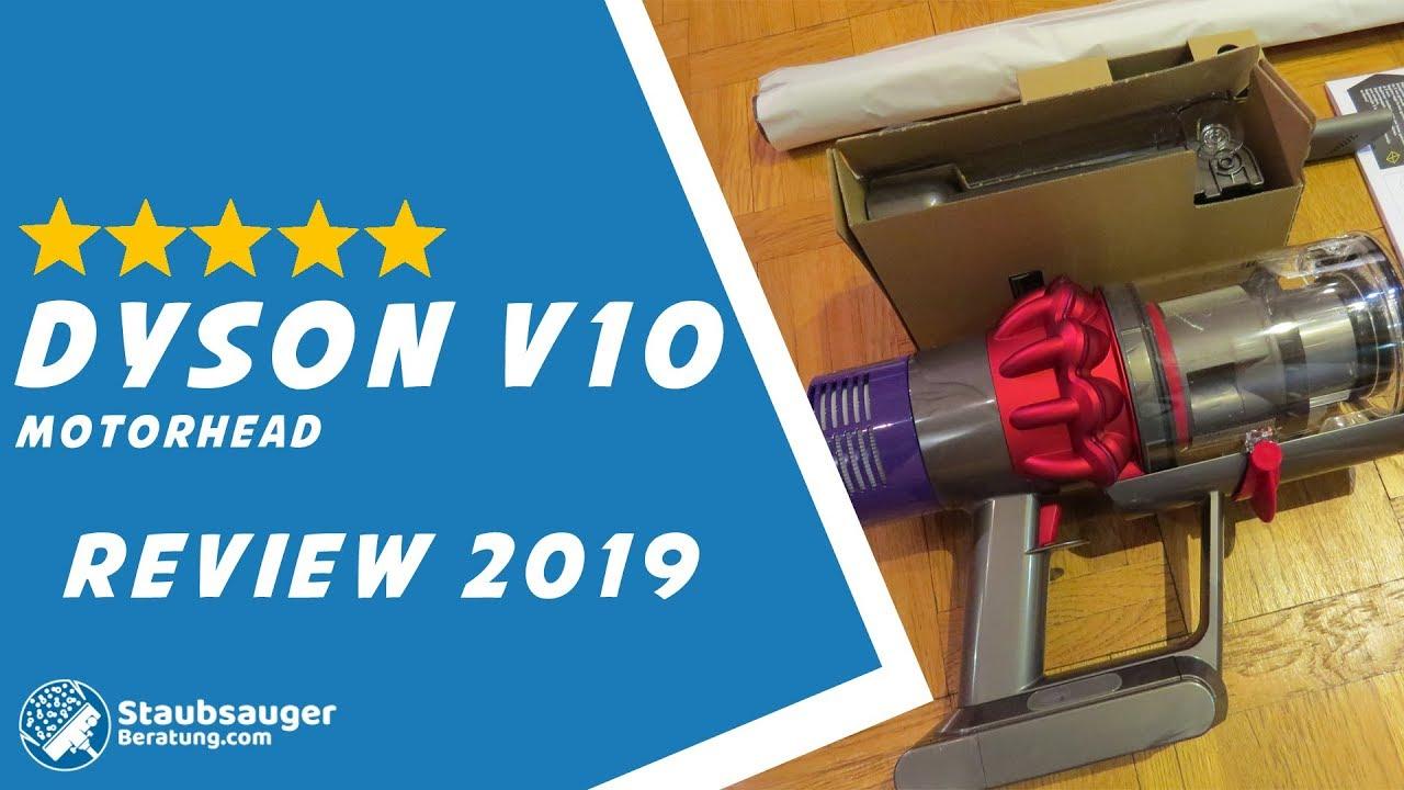 Dyson Cyclone V10 Absolute Test und Vergleich - Der Staubsauger Test 2019