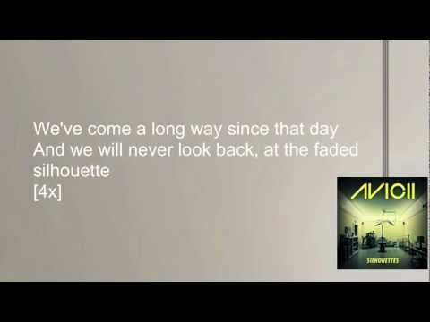 Avicii - Silhouettes (Lyrics Video)