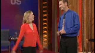 Whose Line - Ryan Stiles Blooper With A Desk Light