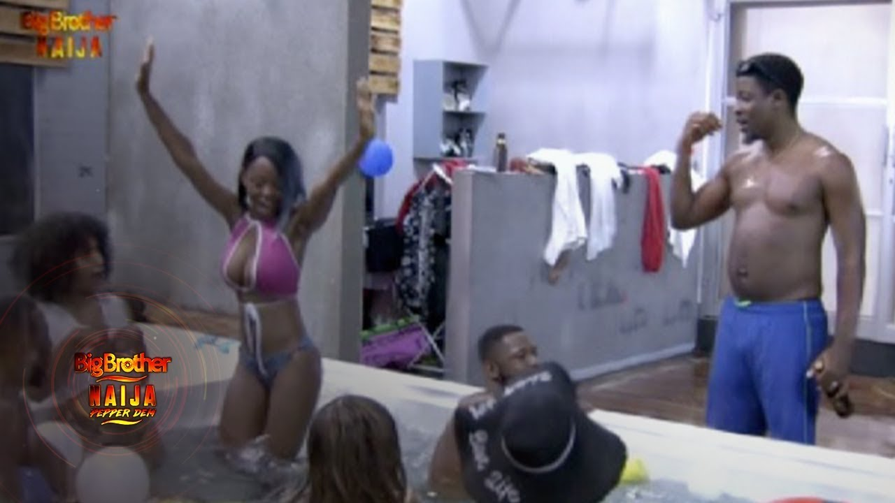 Big Brother Shower Pics