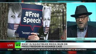 """George Galloway on Julian Assange: """"Brits know something's wrong here"""""""