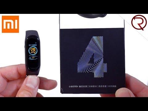 Xiaomi Mi Band 4 Unboxing and Set up