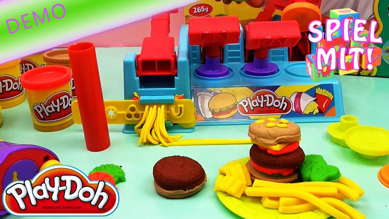 Play Doh Küche Play Doh Hamburger Selber Machen Deutsch Demo Burger Maker Hd Mcdonald S