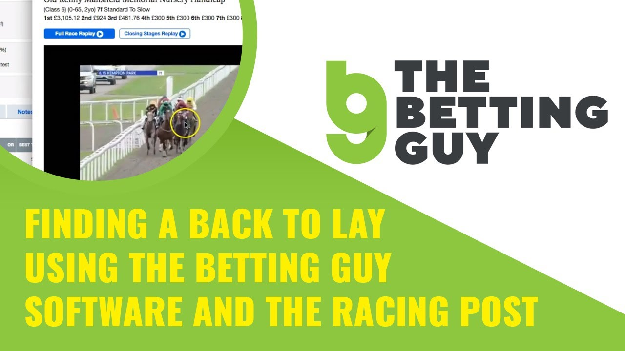 Back lay betting software sports how do you place a bet on the belmont stakes