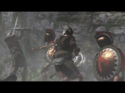 Ancient Greek Warrior's Battle