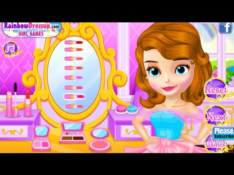 Princess Sofia Fairytale Wedding Dress Up Games Online Free Flash Game Videos GAMEPLAY