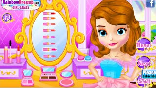 Princess Sofia Fairytale Wedding Dress Up Games Online Free Flash Game Videos GAMEPLAY