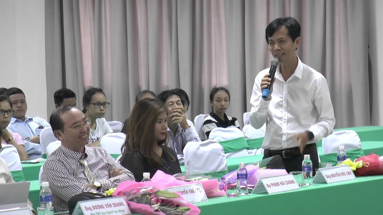 Nhà báo Nguyễn Đức Liên nói về chương trình Quản trị truyền thông tích hợp tại Đại học Đông Á