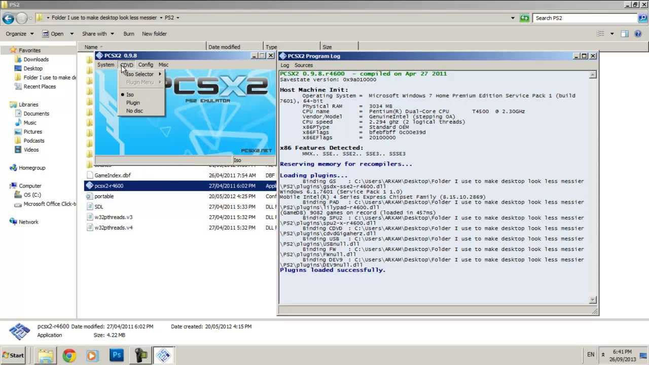e configurare pcsx2