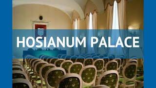 HOSIANUM PALACE 4* Италия Рим обзор – отель ХОСИАНУМ ПАЛАС 4* Рим видео обзор